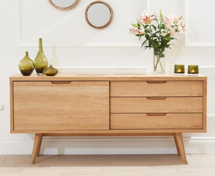 Tribeca Oak Sideboard Throughout Current Tribeca Sideboards (Gallery 10 of 20)
