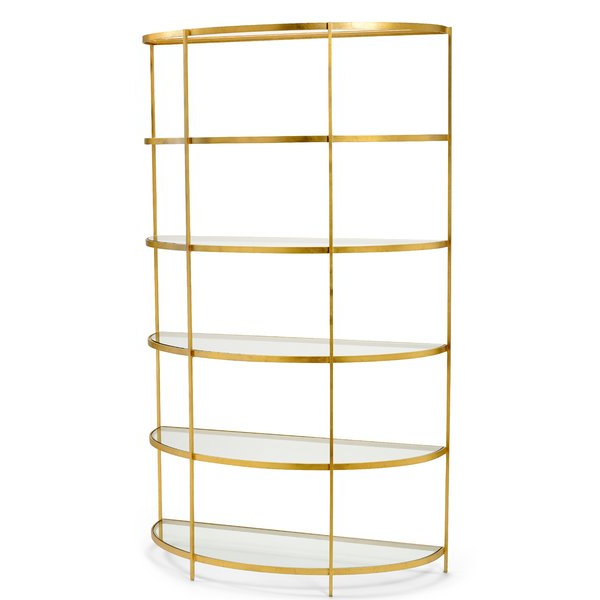 Ultra Modern Pertaining To Beckett Etagere Bookcases (View 16 of 20)