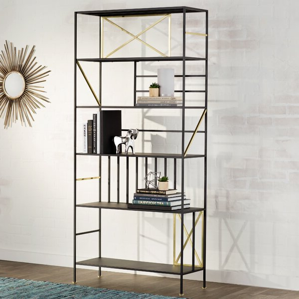Ultra Regarding Parker Modern Etagere Bookcases (Gallery 19 of 20)