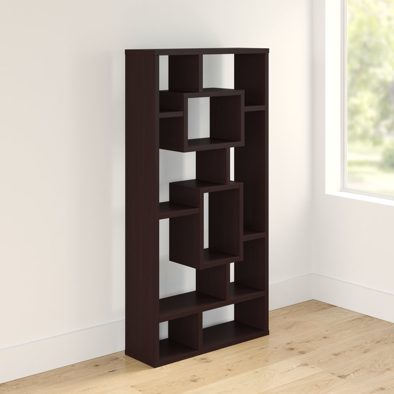 Vaccaro Geometric Bookcase For Most Popular Vaccaro Geometric Bookcases (View 4 of 20)