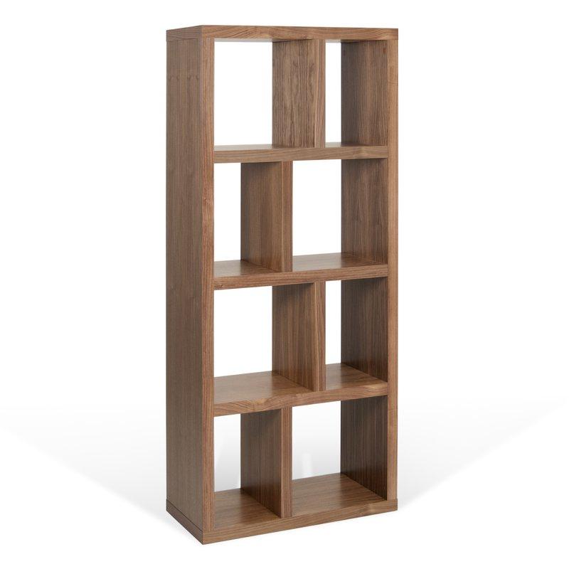 Varga 4 Level Geometric Bookcase Within Well Known Varga 5 Level Geometric Bookcases (Gallery 19 of 20)