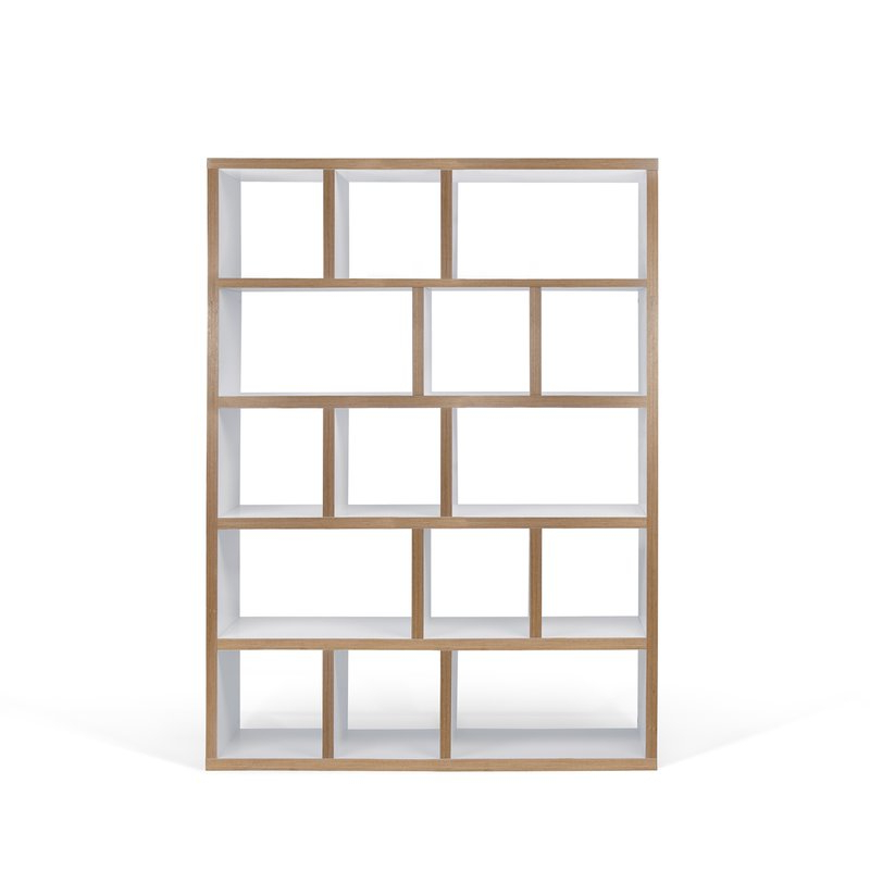 Featured Photo of Varga 5 Level Geometric Bookcases