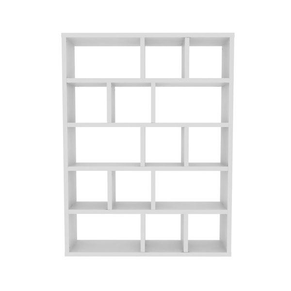 Varga 5 Level Geometric Bookcases Regarding Most Popular Varga 5 Level Geometric Bookcase (Gallery 8 of 20)