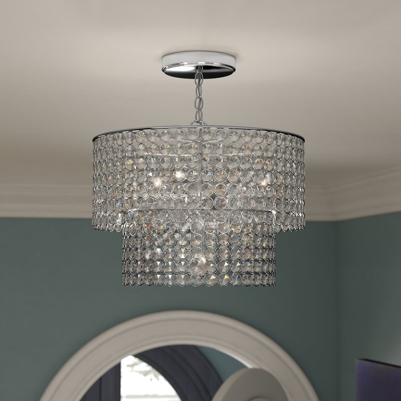 Verdell 5 Light Crystal Chandeliers Pertaining To Newest Saltford 5 Light Crystal Chandelier (View 26 of 30)