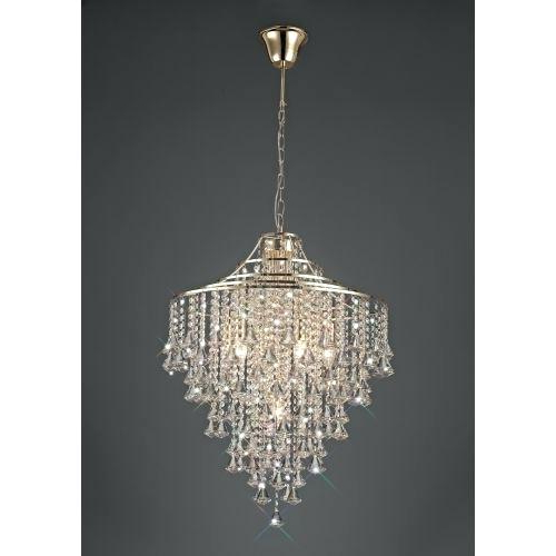 Verdell 5 Light Crystal Chandeliers With Regard To Recent Light Crystal Chandelier – Petprovide (View 28 of 30)