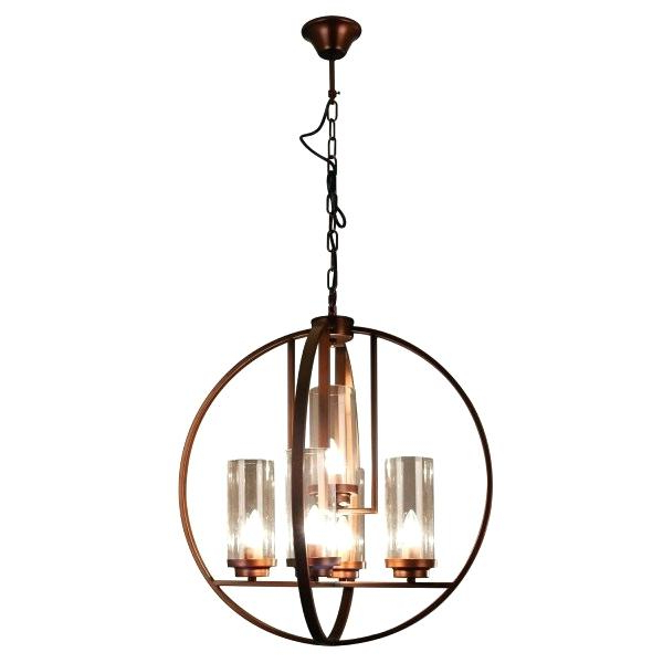 Verlene Foyer 5 Light Globe Chandeliers For Most Recent Black Globe Chandelier – Cecilleseibel.co (Gallery 16 of 30)