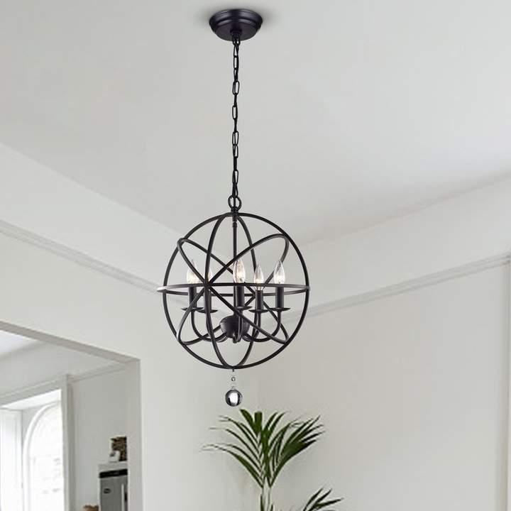 Verlene Foyer 5 Light Globe Chandeliers With Regard To Best And Newest Three Posts Verlene Foyer 5 Light Globe Chandelier In  (View 3 of 30)