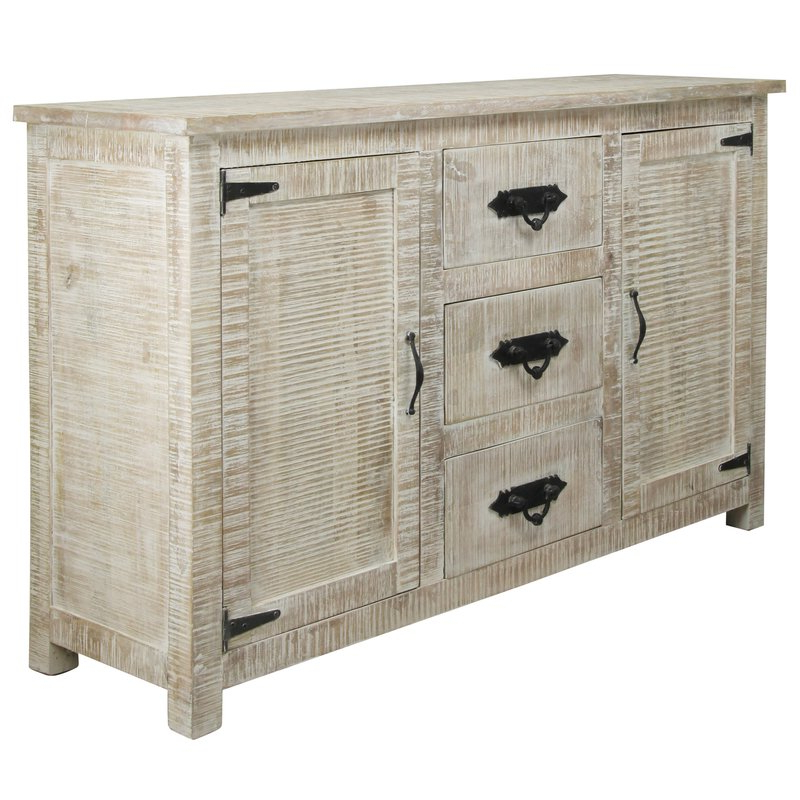 Virgile Sideboard With Most Popular Drummond 4 Drawer Sideboards (View 14 of 20)