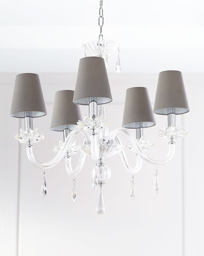 Von 4 Light Crystal Chandeliers For Well Known Crystal Chandelier Lighting (Gallery 17 of 30)