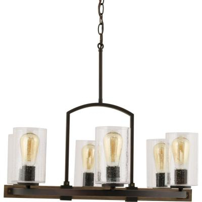 Wagon Wheel – Chandeliers – Lighting – The Home Depot For Most Popular Shayla 12 Light Wagon Wheel Chandeliers (View 27 of 30)