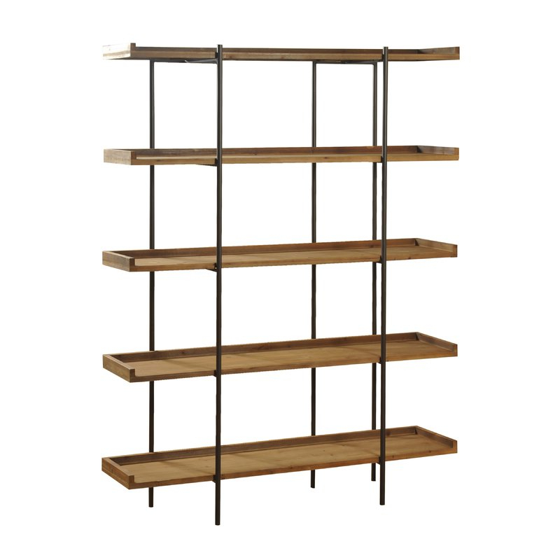 Wanda Etagere Bookcase Throughout 2019 Beckett Etagere Bookcases (View 17 of 20)