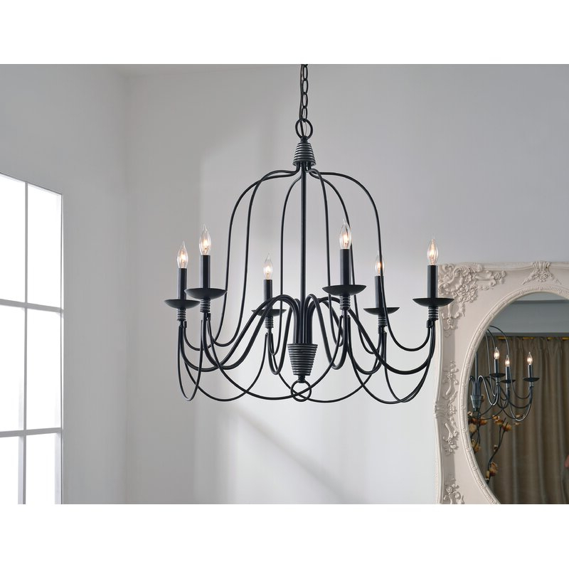 Featured Photo of Watford 6 Light Candle Style Chandeliers