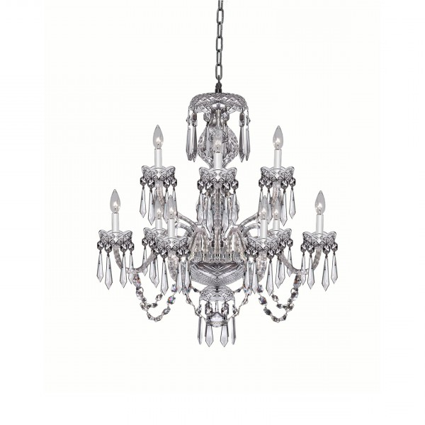 Watford 9 Light Candle Style Chandeliers Pertaining To Most Popular Crystal Chandeliers & Lighting – Waterford® Us (View 25 of 30)