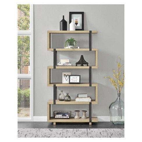 Waverley Etagere Bookcases Throughout Well Liked Quincy Bookcase (View 15 of 20)