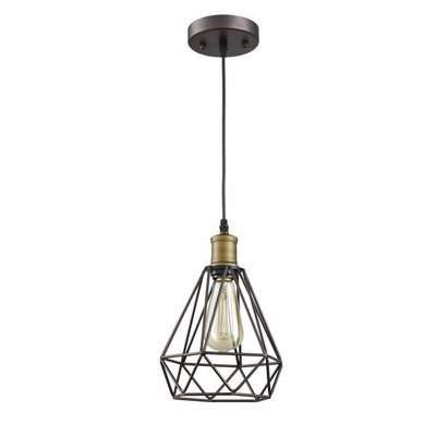 Wayfair Pertaining To 2019 Louanne 1 Light Lantern Geometric Pendants (View 28 of 30)