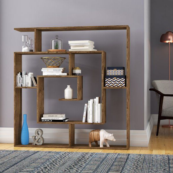 Wayfair Pertaining To Well Liked Mckibben Geometric Bookcases (View 11 of 20)