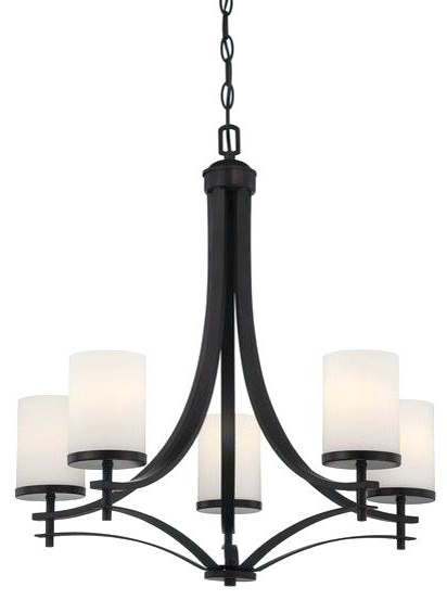 Well Known 5 Light Shaded Chandelier – Tetovars Throughout Crofoot 5 Light Shaded Chandeliers (View 29 of 30)