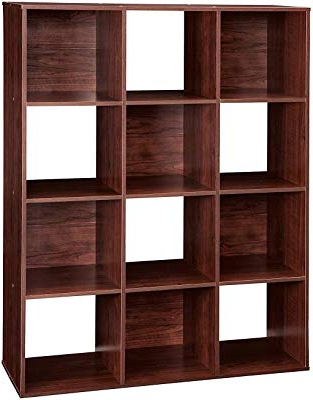 Well Known Amazon: Bush Furniture Broadview 6 Cube Storage Bookcase Within Broadview Cube Unit Bookcases (View 20 of 20)