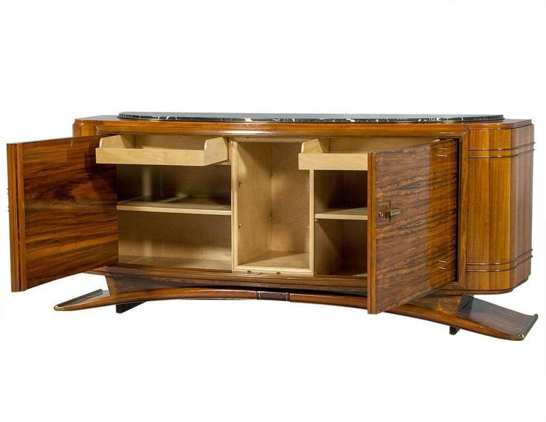 Well Known Art Deco Rosewood Sideboard In The Style Of Jules Leleu In North York Sideboards (View 20 of 20)