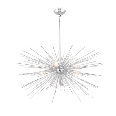 Well Known Bautista 5 Light Sputnik Chandeliers With Regard To Sputnik – Chandeliers – Lighting – The Home Depot (View 25 of 30)