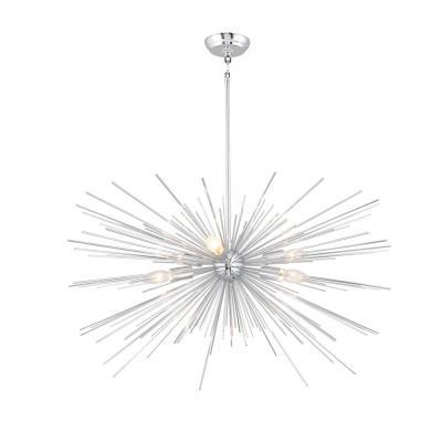 Well Known Bautista 5 Light Sputnik Chandeliers With Regard To Sputnik – Chandeliers – Lighting – The Home Depot (View 29 of 30)