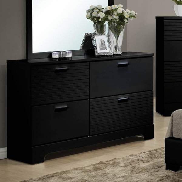 Well Known Best Moderno 4 Drawer Drawer Double Dresserwildon Home For Sideboards By Wildon Home (View 17 of 20)