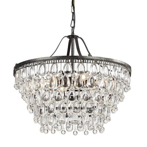 Well Known Bramers 6 Light Novelty Chandeliers With Bramers 6 Light Novelty Chandelier (View 28 of 30)