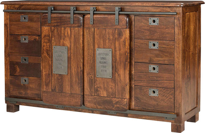 Well Known Caines Credenzas Inside Coast To Coast Two Sliding Door Eight Drawer Media Credenza (View 20 of 20)
