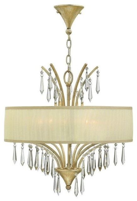 Well Known Camilla 9 Light Candle Style Chandeliers Regarding Fredrick Ramond Fr40775 Camilla 5 Light Chandelier (Gallery 16 of 30)