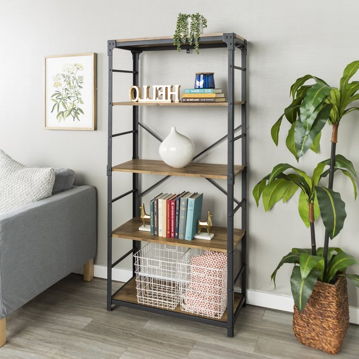 Well Known Cecelia Etagere Bookcases Intended For Cecelia Etagere Bookcase (View 17 of 20)