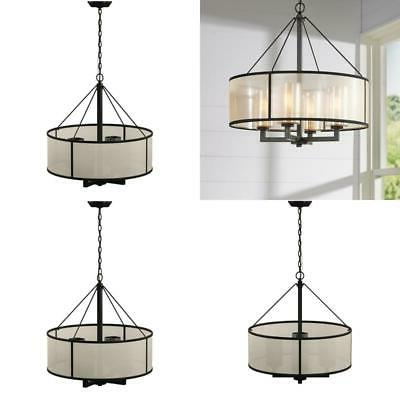 Well Known Dailey 4 Light Drum Chandelier – $ (View 29 of 30)