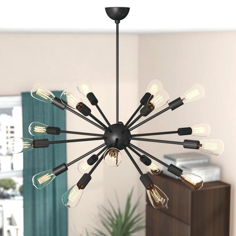 Well Known Defreitas 18 Light Sputnik Chandeliers With Sputnik 18 Light Chandelier (View 9 of 30)
