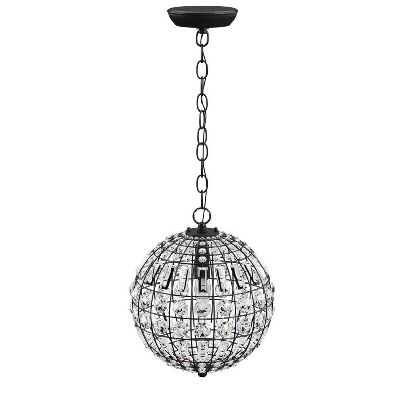 Well Known Elivra 1 Light Single Globe Pendant Regarding Alden 3 Light Single Globe Pendants (View 28 of 30)