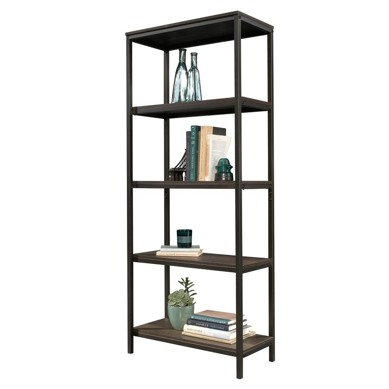 Well Known Ermont Etagere Bookcase & Reviews (View 5 of 20)