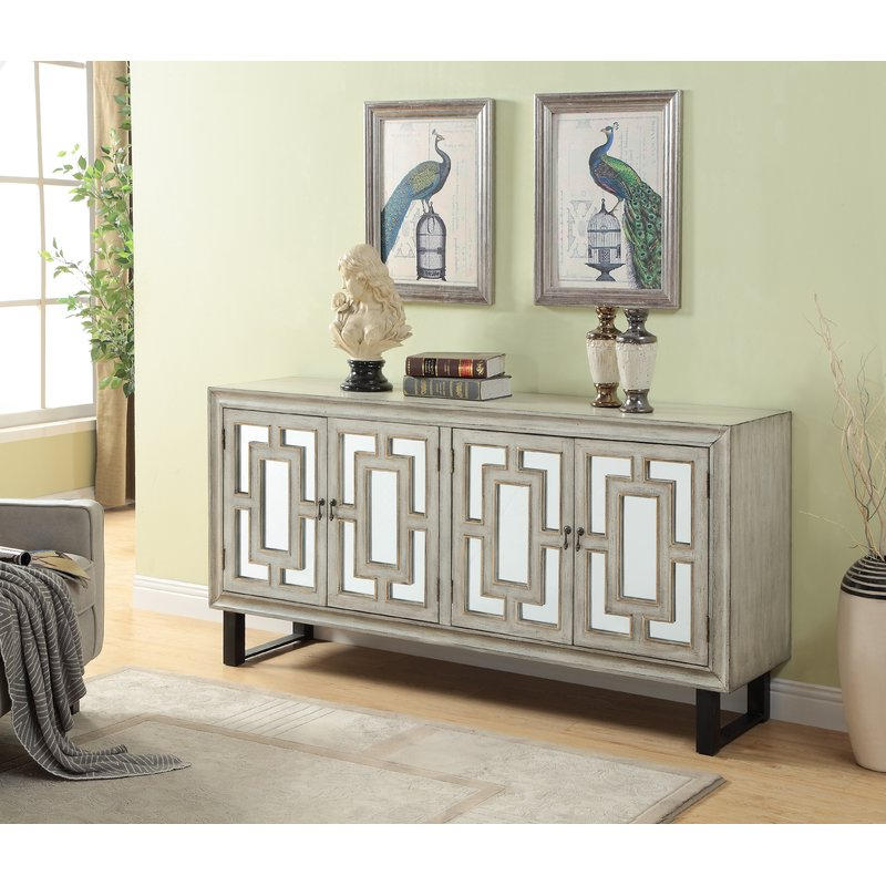 Well Known Ethelinda Media Credenzas With Regard To Ethelinda Media Credenza (View 5 of 20)