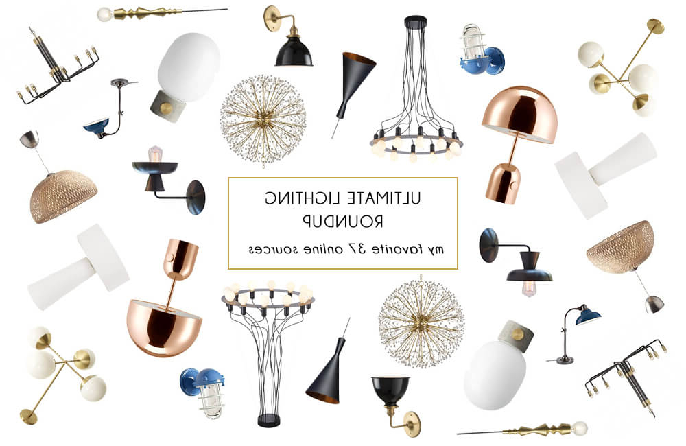 Well Known Everett 10 Light Sputnik Chandeliers Pertaining To My Favorite 37 Online Lighting Resources – Emily Henderson (View 26 of 30)