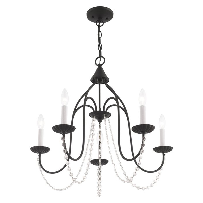 Well Known Florentina 5 Light Candle Style Chandelier With Florentina 5 Light Candle Style Chandeliers (View 3 of 30)