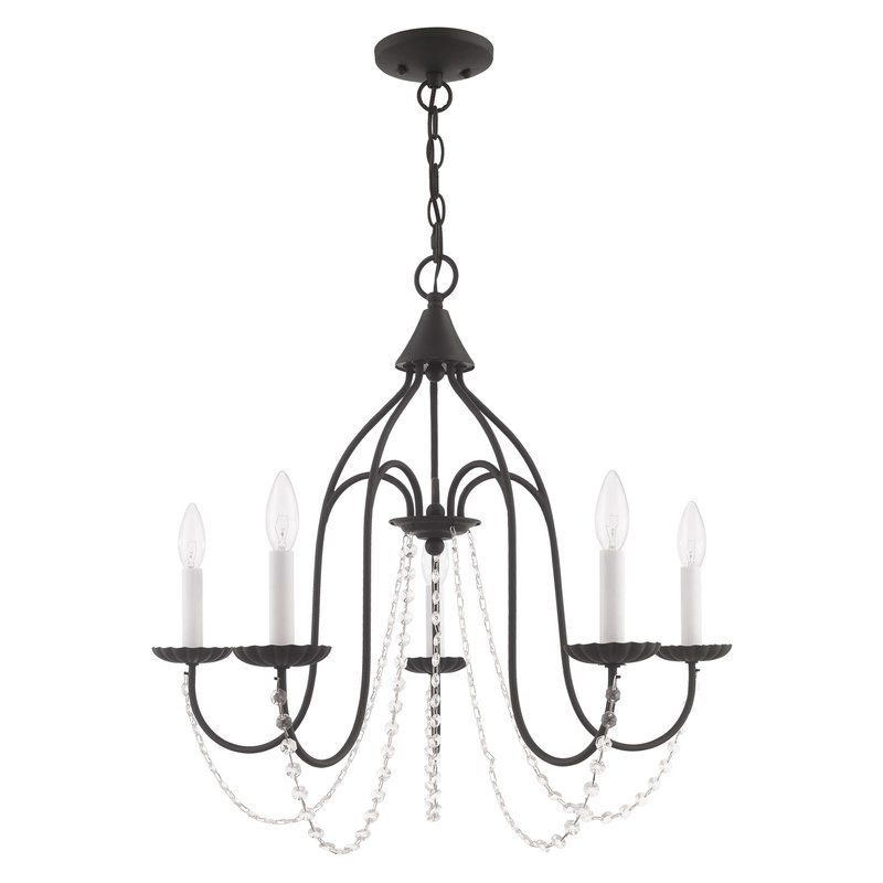 Well Known Florentina 5 Light Candle Style Chandeliers Pertaining To Florentina 5 Light Candle Style Chandelier In (View 6 of 30)
