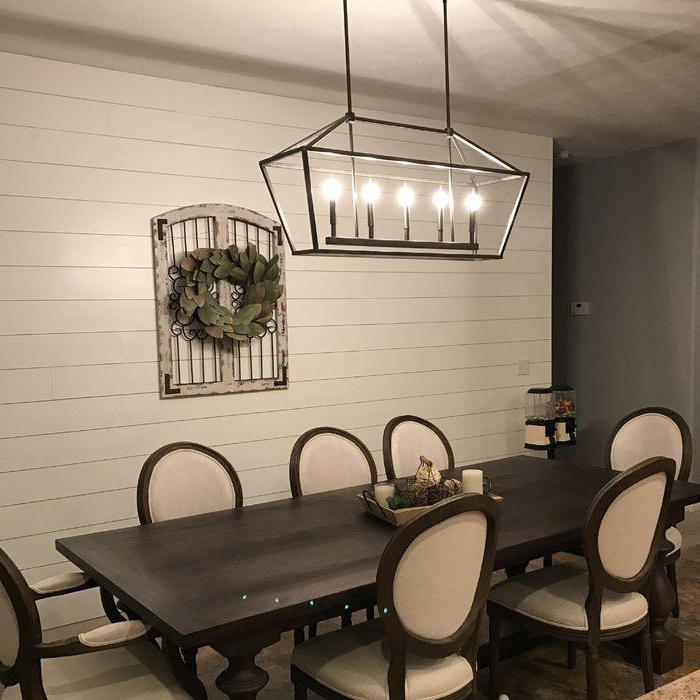 Well Known Freemont 5 Light Kitchen Island Linear Chandelier (View 27 of 30)