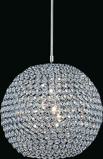 Well Known Globe Light Chandelier – Boogiewoogiebrody Intended For La Barge 3 Light Globe Chandeliers (View 28 of 30)