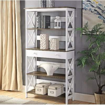 Well Known Gracelynn 5 Tier Etagere Bookcases With Etagere Tiers – Shopstyle (View 18 of 20)
