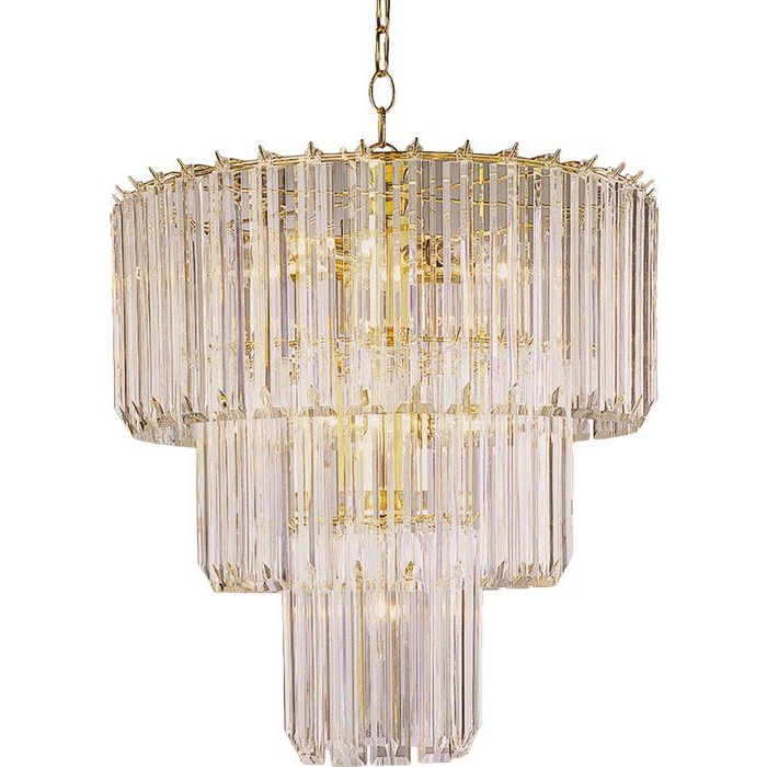 Well Known Grisella Light Crystal Chandelier (View 27 of 30)