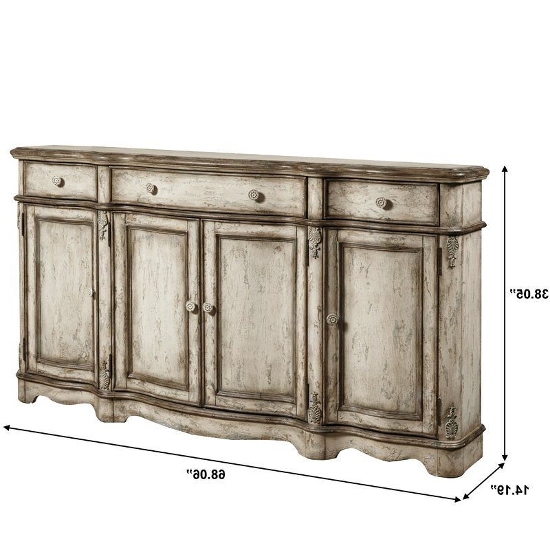 Well Known Ilyan Traditional Wood Sideboard Within Hayslett Sideboards (View 7 of 20)