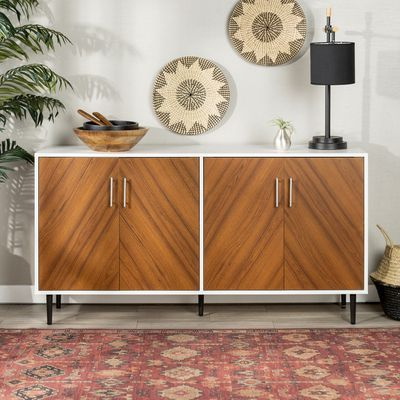 Well Known Keiko Modern Bookmatch Sideboards Intended For Keiko Modern Bookmatch Sideboard (View 20 of 20)
