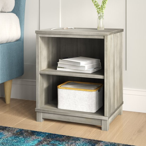 Well Known Kronqui Standard Bookcasegracie Oaks Throughout Herrin 2 Tier Standard Bookcases (View 7 of 20)