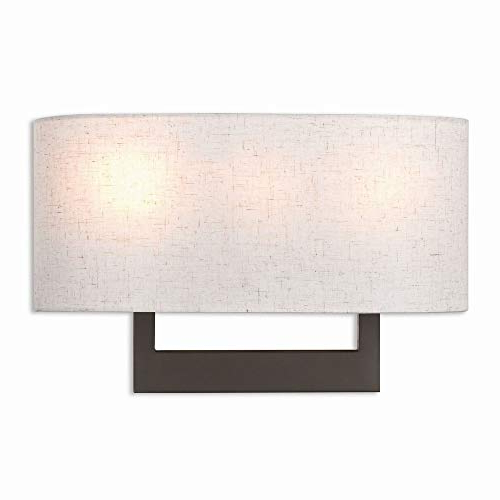 Well Known Livex Lighting 42422 07 Ada Wall Sconce, Bronze For Hewitt 4 Light Square Chandeliers (View 24 of 30)