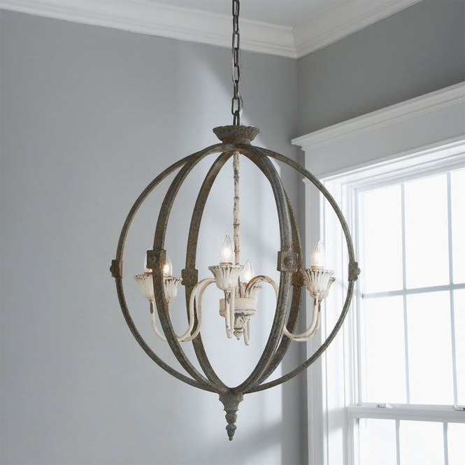 Well Known Marbella Verdigris Globe Chandelier – Artofit For Kierra 4 Light Unique / Statement Chandeliers (View 30 of 30)