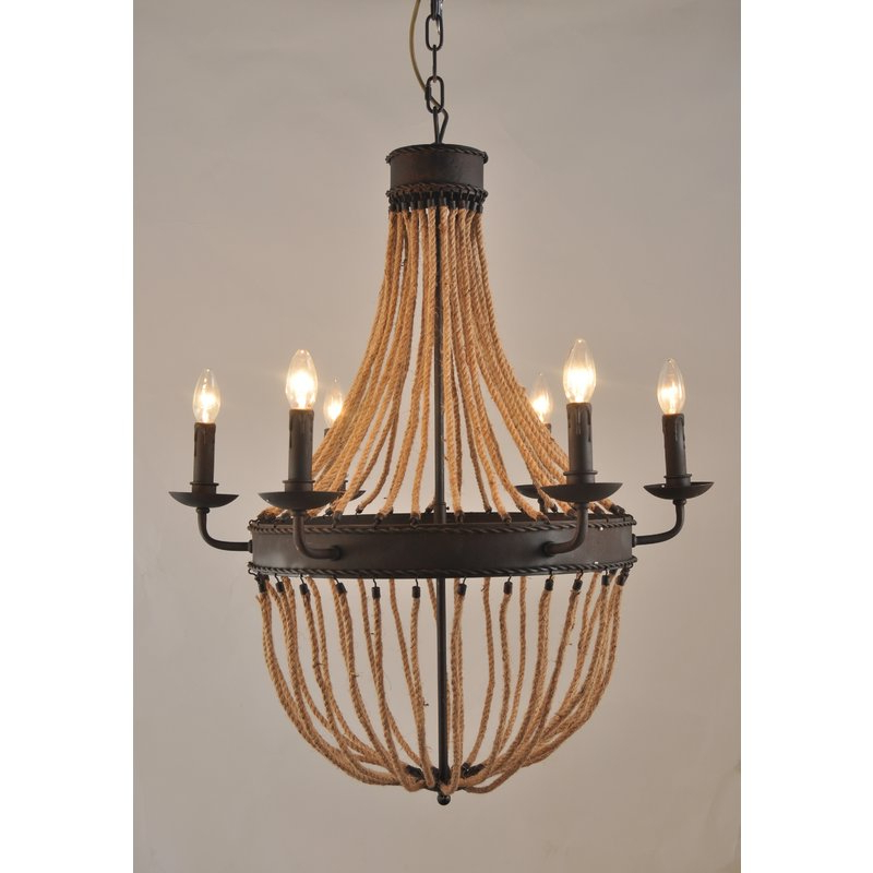Well Known Maryjo 6 Light Empire Chandelier Intended For Phifer 6 Light Empire Chandeliers (View 28 of 30)
