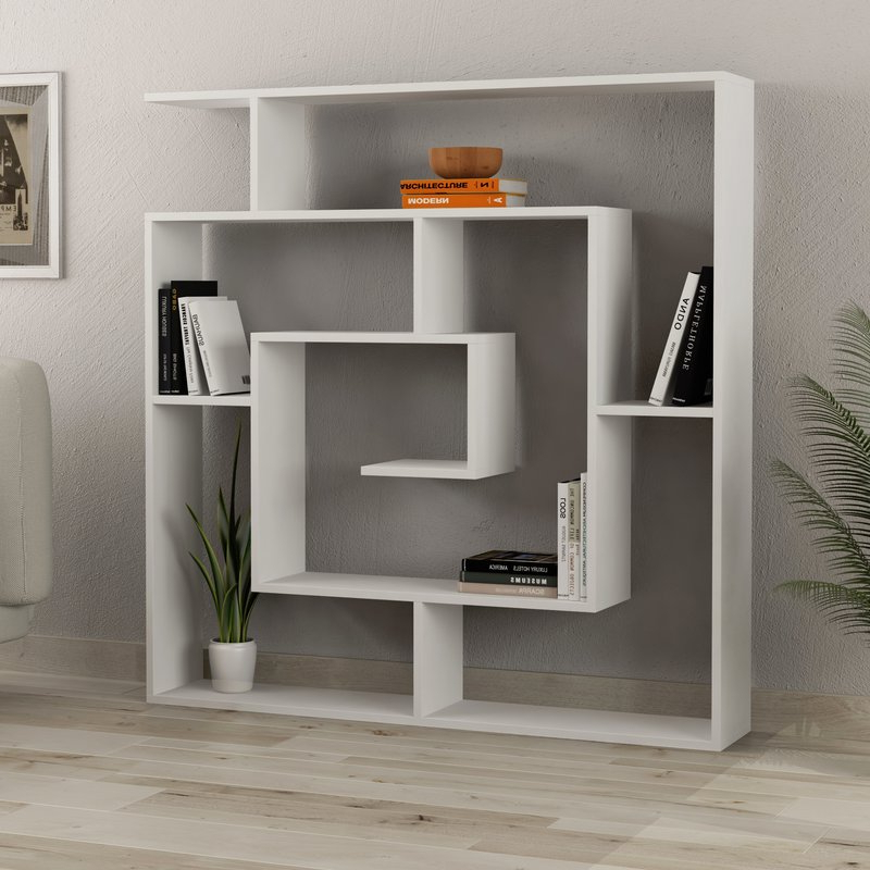 Featured Photo of Mckibben Geometric Bookcases