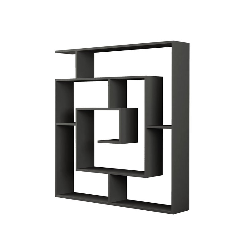 Well Known Mckibben Geometric Bookcase With Mckibben Geometric Bookcases (View 7 of 20)